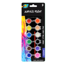 Hot selling Non-toxic 2ml acrylic paints for kids