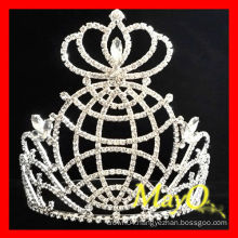 Global Diamond Round pageant crown