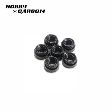 Stainless Steel Blind Nuts on Carbon Fiber Sheet