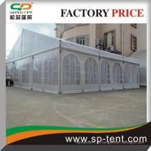 Палатка ПВХ 12х20м для банкетов на открытом воздухе и свадебных торжеств