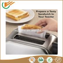 2015 Новый Toasty Мешки Жареный сыр в тостере Многоразовый 50 раз