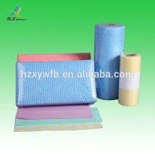 Tissu non tissé de haute qualité pour les lingettes humides de bébé Spunlace