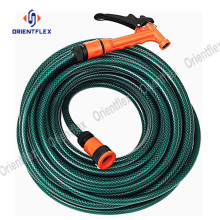 brass connector colored pvc garden hoses