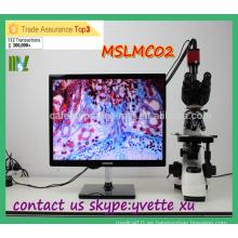 MSLMC02 Microscopio biológico rentable Microscopio binocular barato