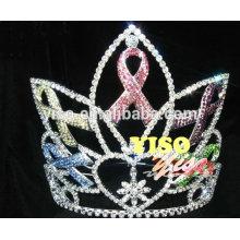 Grand cadran en cristal de style reine style couronne