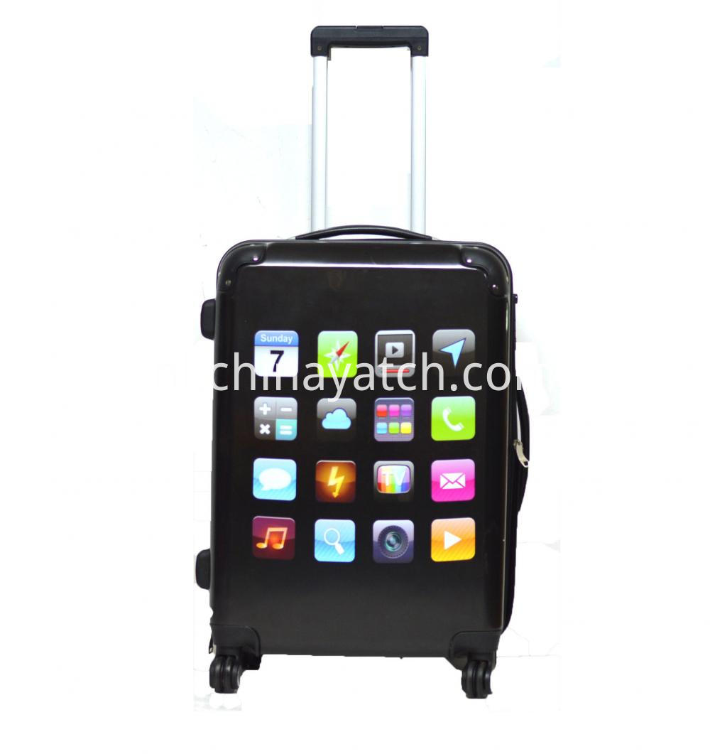 Moblie Icon Printing Luggage