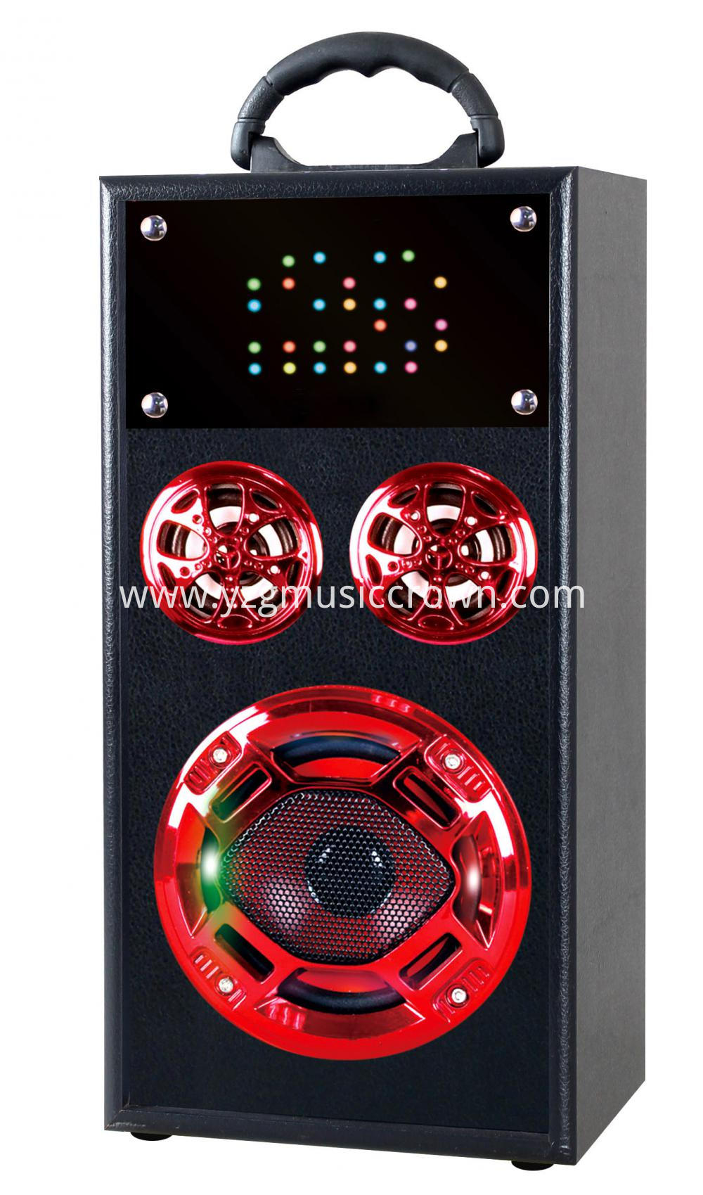 Popular Led Wooden Speaker