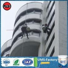 Polyurea repair wall coating heat resistance