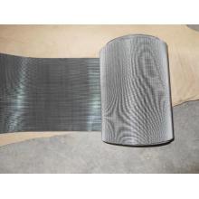 Malla de alambre tejida holandesa inversa de acero inoxidable