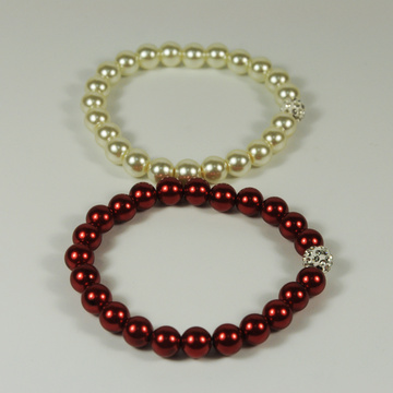 Enthusiasm Red Pearl Bracelet