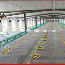 Equipo de aseguramiento del comercio de Alibaba materiales de cultivo de pollos de aves de corral - equipo de alimentación y bebida para pisos