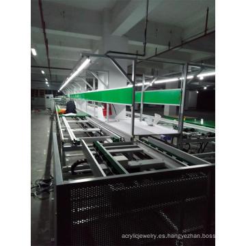Transportador de Cadena de Flujo Libre de Cadena Doble Plus