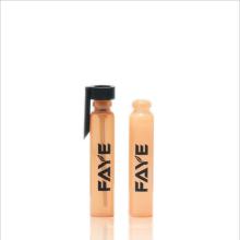 Tube d'essai en verre en gros de parfum de 1ml 2ml 3ml avec l'emballage de PAC de PAC