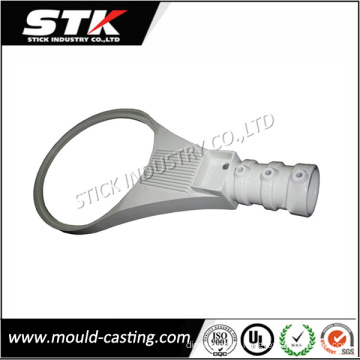 White Painted Aluminum Die Casting Parts for Street Light Frame