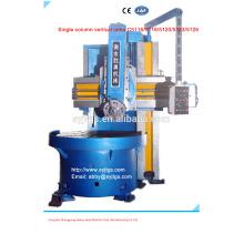 Одностоечный вертикальный токарный станок для продажи на складе, предлагаемый китайским крупным вертикальным токарным производством