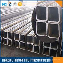 Tubo de acero cuadrado EN10219 ASTM A500 JIS G3466
