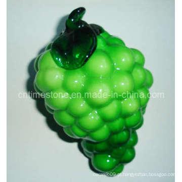 Fruta de vidro verde (TM2020)
