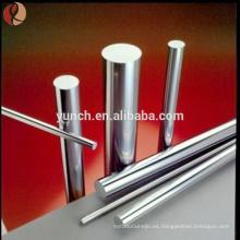 precio de titanio por kg de implante quirúrgico varilla de titanio, placa, alambre