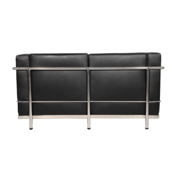 Replikat Leder Le Corbusier LC2 Loveseat