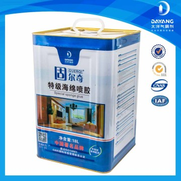 Metal Barrel Sponge Fabric Foam Glue For Foam Mattress