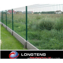 Green Welded PVC Coated Wire Fence