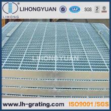 Reja de acero serrada galvanizada para piso antideslizante