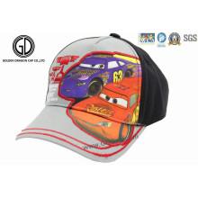 Casquillo de los deportes del béisbol de los niños, sombreros de los niños Impresión del coche