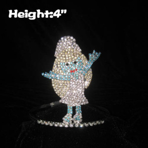 4in Crystal The Smurfs Princess Crowns