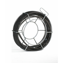 "Hongli 7/8 ""x 45 'Câble de drain sectionnel avec support"