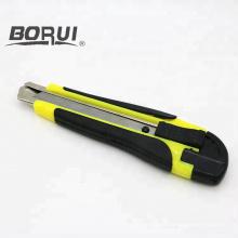 Cuchillo cortador de papel plegable retráctil