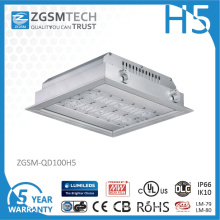 100 Watt LED Gas Station Light with Motion Sensor