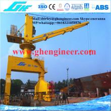 Rail Mounted Mobile Port Gantry Grab Crane