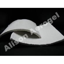 Silica aerogel blanket for high temperature
