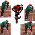 50mm 55mm 70mm Handheld Benzin Pile Driver Hammer Portable Benzin Powered Hand Zaun Post Driver