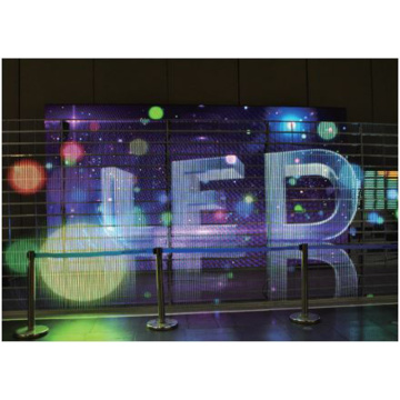 Buiding+Decoration+Mesh+LED+Display+Screen