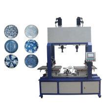 Máquina de tampografía de platos de cerámica
