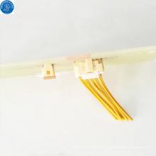 Conector de 10 pines de ángulo recto eléctrico JAM cable a placa