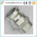 Camlock aluminum type F , cam lock fittings, quick coupling