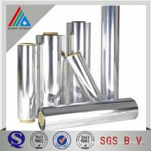 Hochbarriere Aluminium Vakuum Metallisierte Polysterfolie Nicht toxische PET-Folie MPET