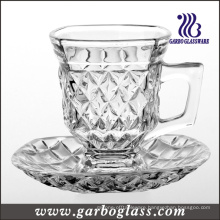 5oz Glass Mug Set for Tea or Coffee (TZ-GB09D1405ZS)