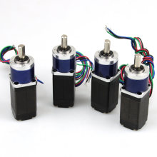 Micro Gear Motor NEMA8 1.8deg Customized Geared Stepper Motor for Holder (20mm X20mm)