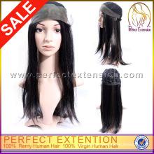 Comprar cabelo direto da China Indian Remy Front Lace Human Wigs