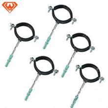 braçadeiras de banda de tubo de aço inoxidável