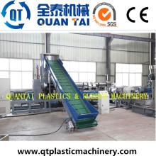 Máquina de granulación reciclado HDPE