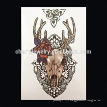 OEM atacado Beast cabeça braço tatuagem braço quente tatuagem tatuagem braço tatuagem W-1023