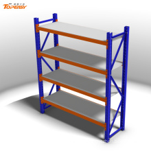 Medium duty boltless warehouse factory steel rack hs code