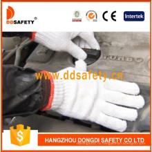 7 калибровочных 2 нитки Отбеливателя хлопок рабочие перчатки Dck702