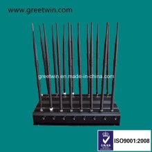16 Kanäle Handy Jammer / WiFi GPS Jammer / UKW UHF Signal Jammer / Lojack Jammer (GW-JA16)