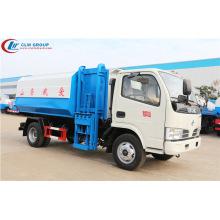 Huge sale Dongfeng 5cbm side loader garbage truck