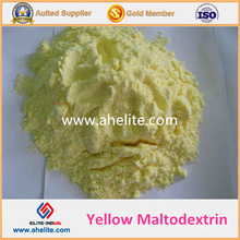 Maltodextrine jaune poudre naturelle maltodextrine Prix